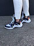 Кроссовки Louis Vuitton Archlight sneakers Archlight Blue. Живое фото. Топ реплика ААА+, фото 3