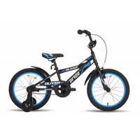 Велосипед 18'' PRIDE OLIVER черно-синий матовый 2015