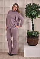 Сиреневые брюки 09 (туника 0248-1 отдельно)