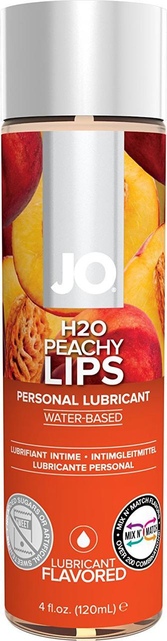 Съедобный лубрикант для орального секса JO H2O Peachy Lips (персик)