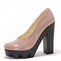 239f65adef68 Туфли на каблуке бежевые в Полтаве. Сравнить цены, купить ...