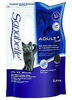 Корм Bosch (Бош) Sanabelle Adult Ostrich  для взрослых кошек, постоянно живущих в помещении 2 кг