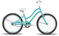 Велосипед 24'' PRIDE SOPHIE бирюзовый глянцевый 2015