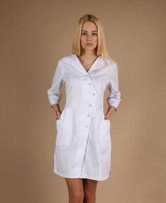 Медицинский халат с вышивкой (79)