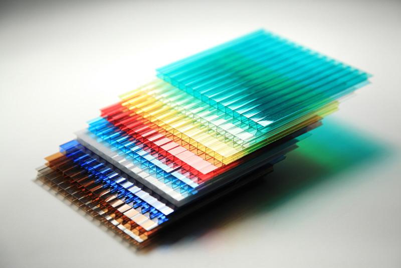 Стільниковий полікарбонат POLICAM кольоровий 4 мм 2,1*6м