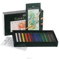 Сухая пастель Faber-Castell POLYCHROMOS 12 цветов в картонной коробке, 128512