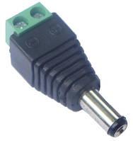 Разъем-power Комплектующие для систем видионаблюдения