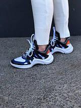Кроссовки Louis Vuitton Archlight Blue, фото 3