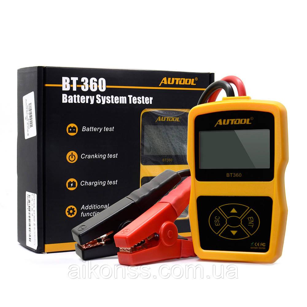 Autool bt360 ( русский ) Профессиональный Диагностический тестер АКБ Аккумуляторов
