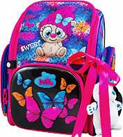 Ранец школьный рюкзак детский ортопедический для девочек фабричный Бренд DE LUNE