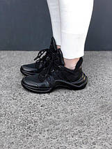 Кроссовки Louis Vuitton Triple Black, фото 2