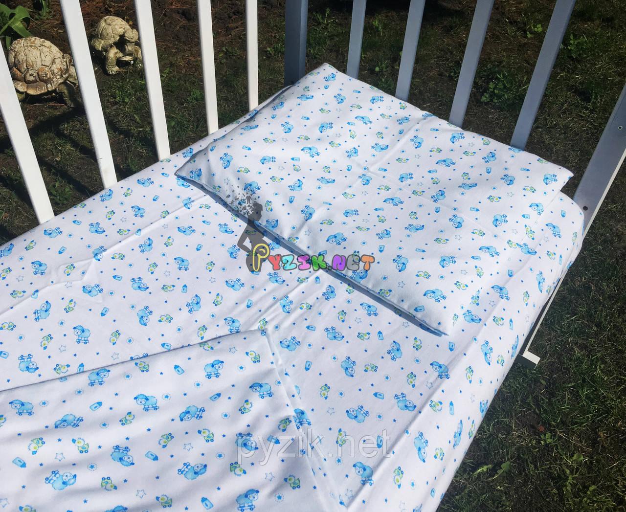 Постельный набор в детскую кроватку Байка (3 предмета) Овечки