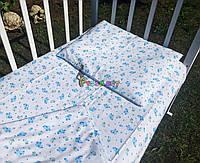 Постельный набор в детскую кроватку Байка (3 предмета) Овечки, фото 1