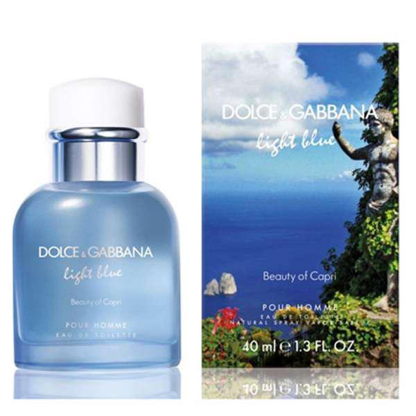 Мужские - D&G Light Blue Beauty of Capri pour Homme (edt 125ml)