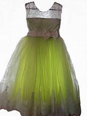 Детское нарядное выпускное бальное платье на 5-7 лет, фото 2