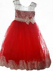 Детское нарядное выпускное бальное платье на 5-7 лет, фото 3