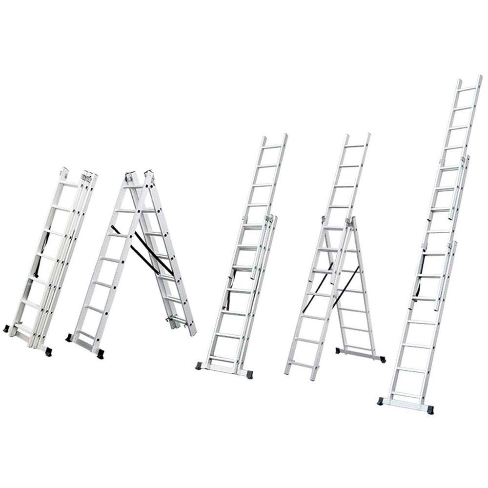Лестница раскладывающаяся универсальная 9ступенек (5032334 Sigma)