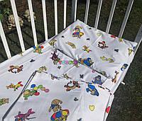 Постельный набор в детскую кроватку Байка (3 предмета) Винни пух
