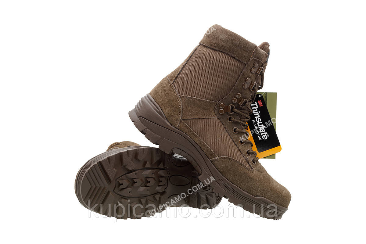 """Берцы тактические  """"Mil-Tec™"""" Германия """"Tactical boots"""" Braun"""