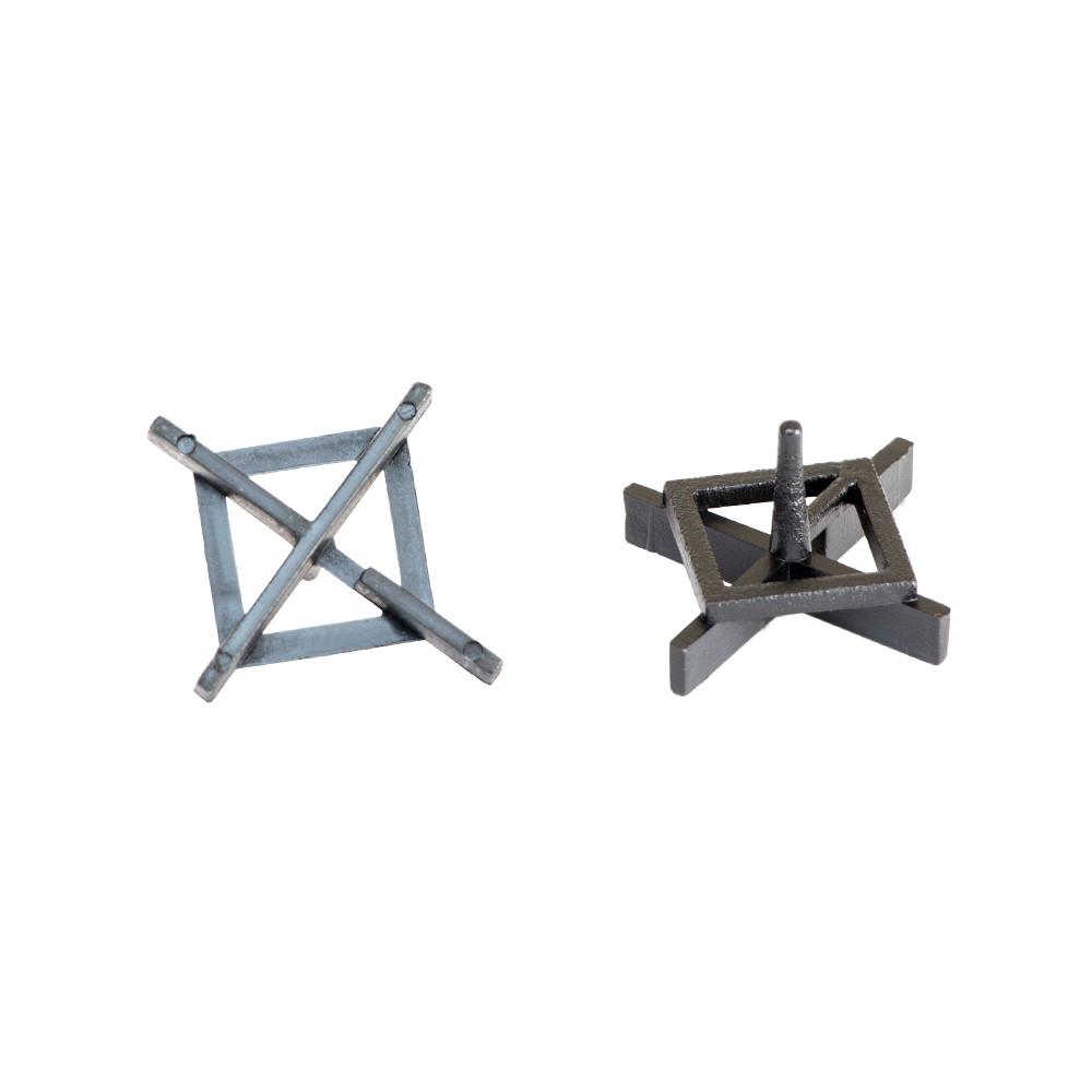 Крестик дистанционный (многоразовый) для плитки 1,5мм 100шт sigma 8241211
