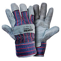Перчатки комбинированные замшевые р10,5, класс ВС (сшивная ладонь) sigma 9448321