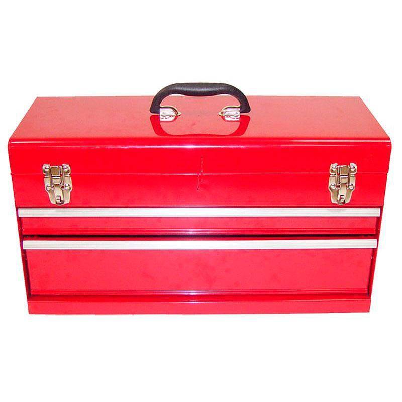 Ящик для автосервиса металлический с замком 2 яруса Sigma 817132z