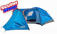 Палатка четырехместная Coleman 1009, двухслойная (размеры 370х240х160 см)