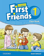 First Friends 2nd Edition 1 Class Book with MultiROM / Учебник с диском