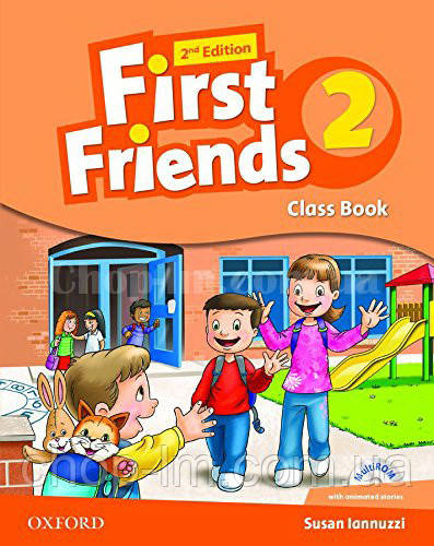 First Friends 2nd Edition 2 Class Book with MultiROM / Учебник с диском