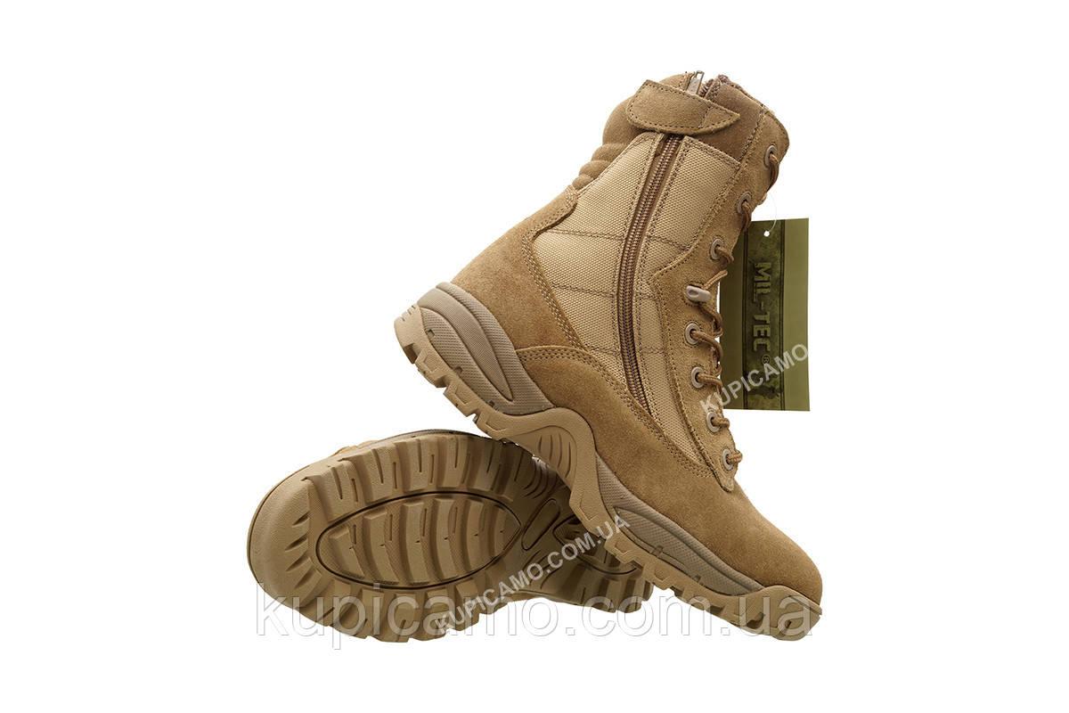"""Берцы трэкинговые  демисизонные  Mil-tec coyote Tactical Boots """"Two-Zip"""" Германия"""
