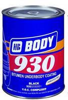 Мастика для днища BODY 930 (2,5кг) полимерно-битумная