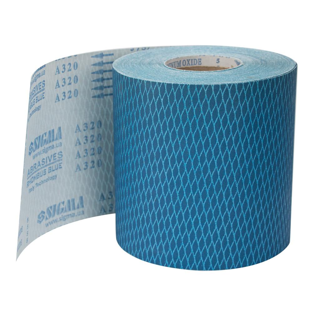 Шлифовальная шкурка (ромб) тканевая рулон 200ммх50м P320 sigma 9111331