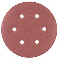 Шлифовальный круг 6 отверстий Ø150мм P150 (10шт) sigma 9122281