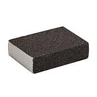 Губка шлифовальная четырехсторонняя 100х70х25мм P100 sigma 9130661