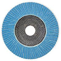 Круг лепестковый торцевой Т29 (конический) ZA Ø125мм P120 sigma 9173561