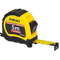 Рулетка 5м*19мм Sigma shiftlock 3815051
