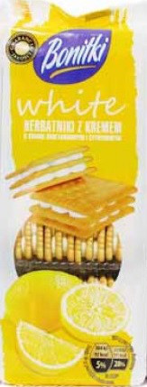 Печенье Bonitki с лимонно- сливочным кремом, 216 гр