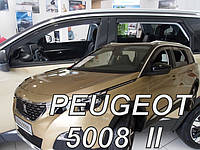 Дефлекторы окон (ветровики)  PEUGEOT 5008 5d 2017r →(HEKO)