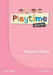 Playtime Starter Teacher's Book / Книга для учителя