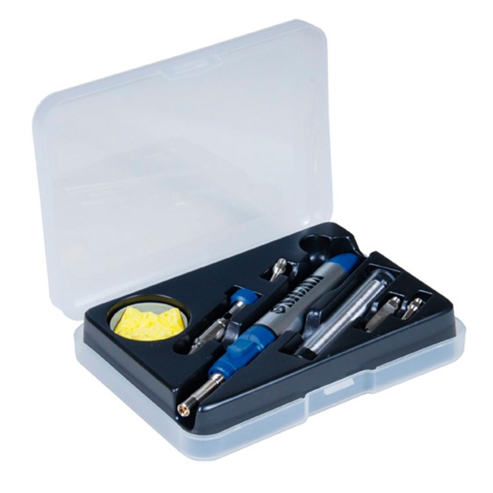 Микрогорелка газовая 200-400°С + аксессуары 7шт sigma 2901031