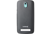Чехол Kuboq UltraThin HTC Desire 500 Light S Black+ пленка