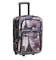 Дорожный чемодан на колесах Bonro Best City Средний
