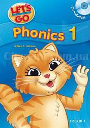 Let's Go 1 Phonics Book with CD / Учебник с диском для детей