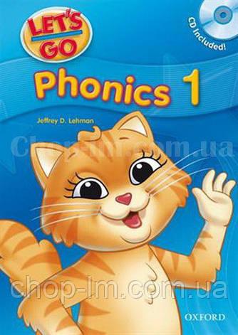 Let's Go 1 Phonics Book with CD / Учебник с диском для детей, фото 2