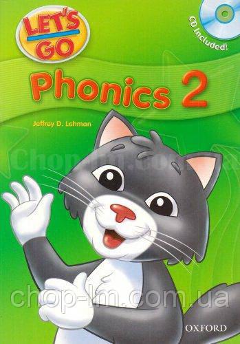 Let's Go 2 Phonics Book with CD / Учебник с диском для детей