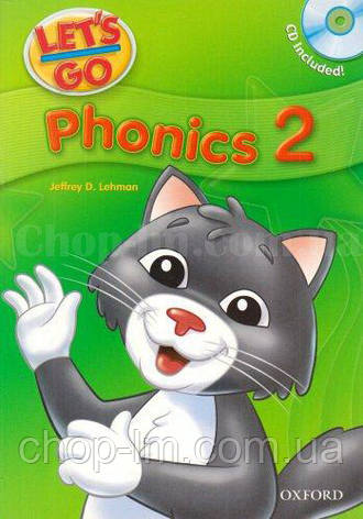 Let's Go 2 Phonics Book with CD / Учебник с диском для детей, фото 2