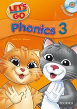 Let's Go 3 Phonics Book with CD / Учебник с диском для детей