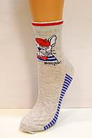 Яркие носки с рисунком женские