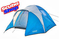 Палатка четырехместная Coleman 1004, двухслойная (размеры 300х240х150 см)