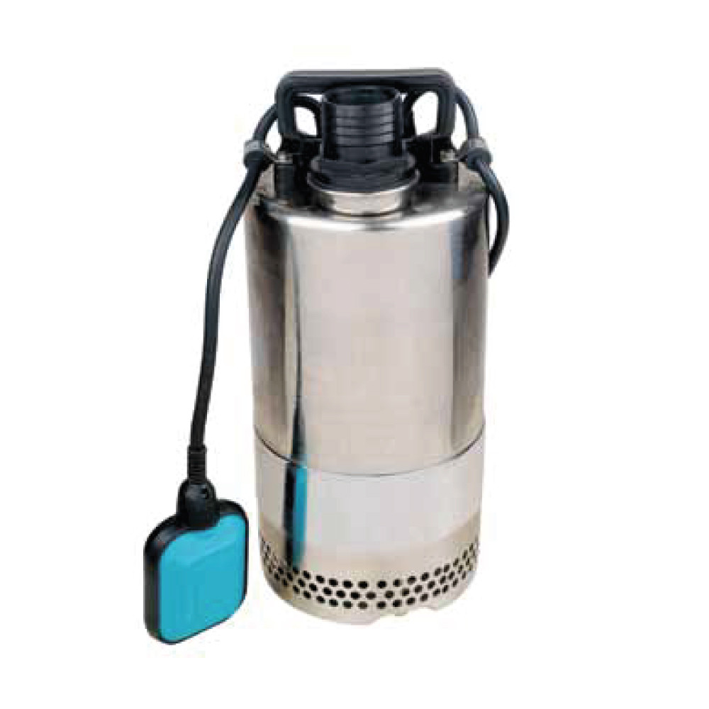 Насос дренажный 0.4кВт Hmax 9м Qmax 216л/мин (нерж) aquatica 773113